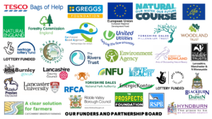 The Ribble Life Together partner and funder logos