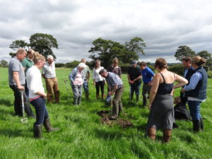 Farmers working together to improve the Ribble Catchment