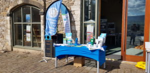 Our stand at one of our most recent events, the Clitheroe Food Festival