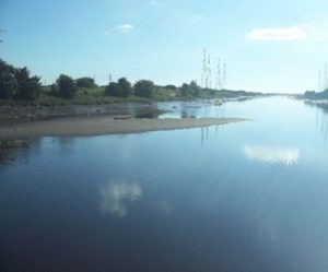 A wonderful view of the Ribble from our Preston Docklands walk