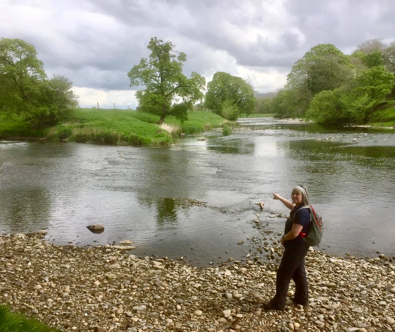 Hodder Ribble confluence