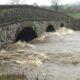 Rlibble in flood at West Bradford Bridge
