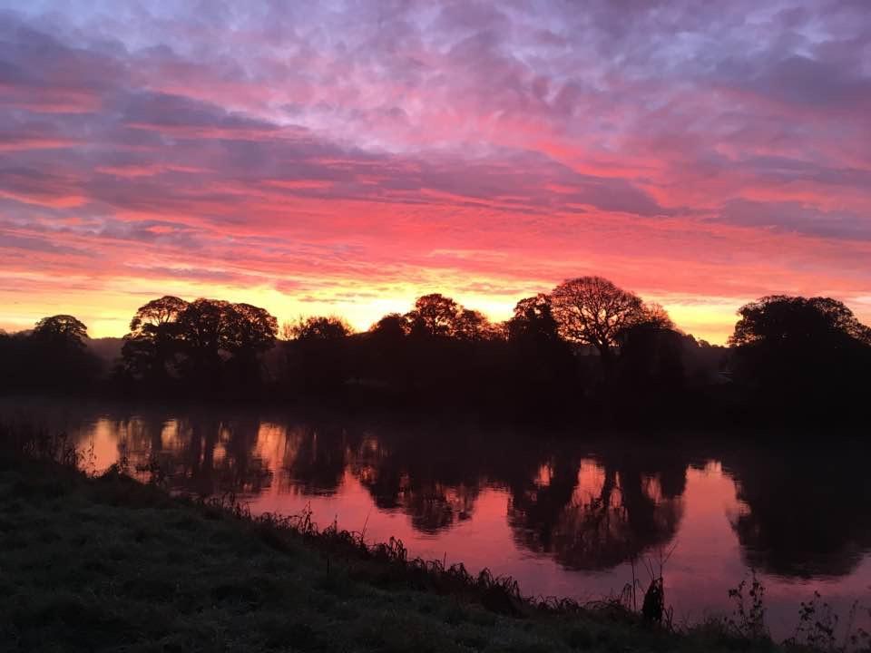 Samlesbury sunrise