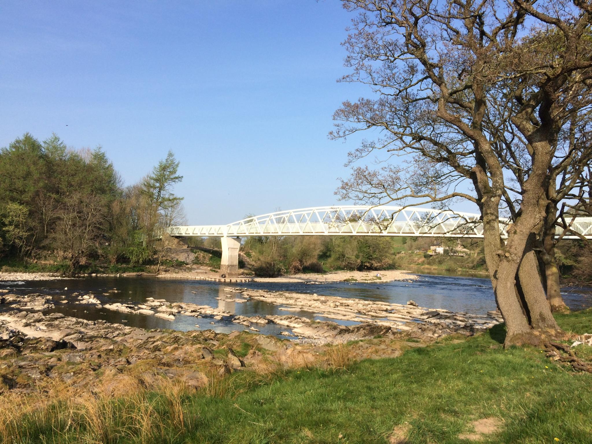 Dinckley footbridge