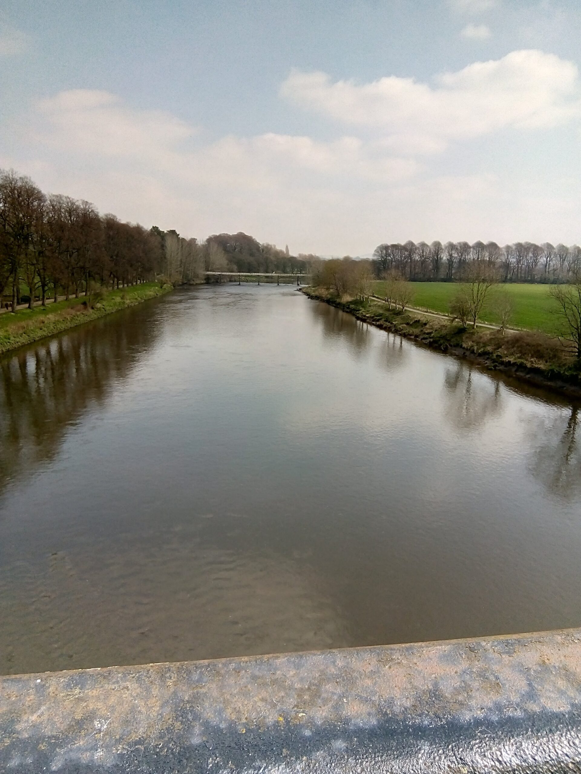 The Ribble by Avenham Park