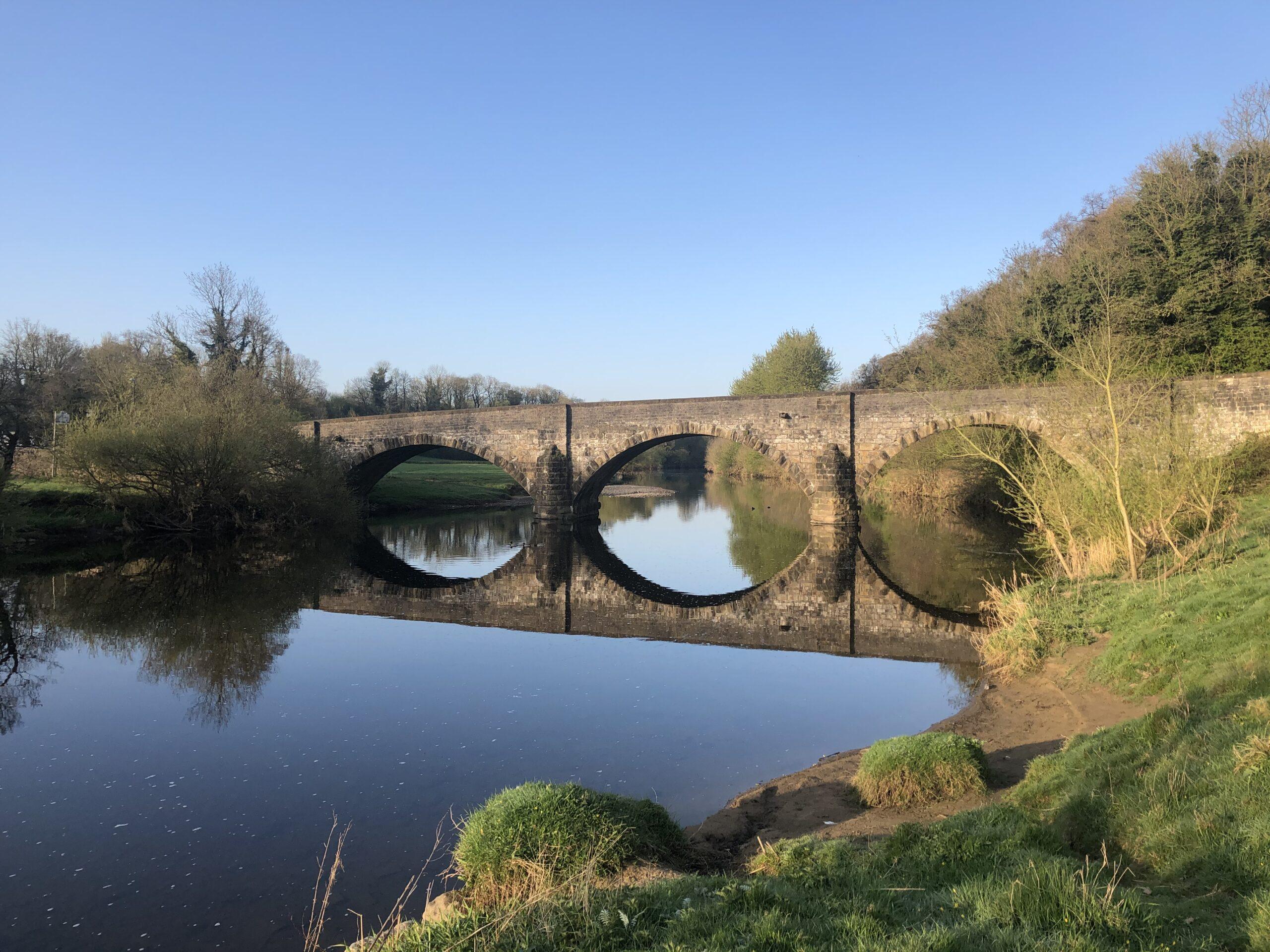 River Ribble - Brungerly Bridge - Clitheroe