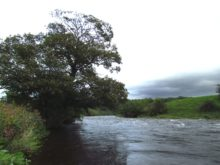 Stormy River Ribble