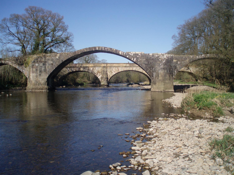 CROMWELL BRIDGE, RIVER HODDER